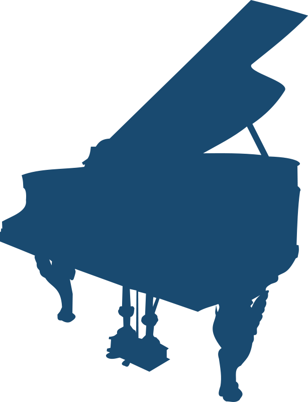 Standard 88-key Piano Keyboard Clip Art Download