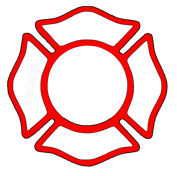 Fire Department Maltese Cross Clip Art - Cliparts.co