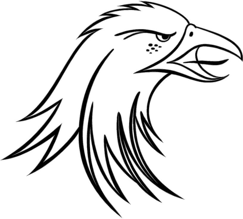 eagle head vinyl decal car truck window sticker | eBay