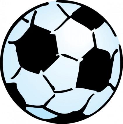 Advoss Fussball Kugel Clipart Grafik Vektor Clipart