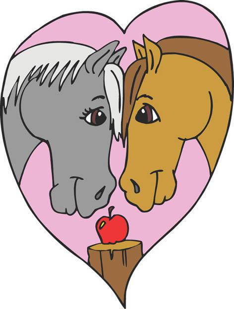 horse lovers clip art - photo #9