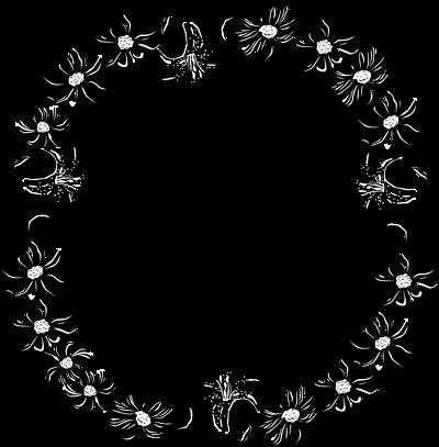 Flower Border Clipart   Clipart Panda - Free Clipart Images
