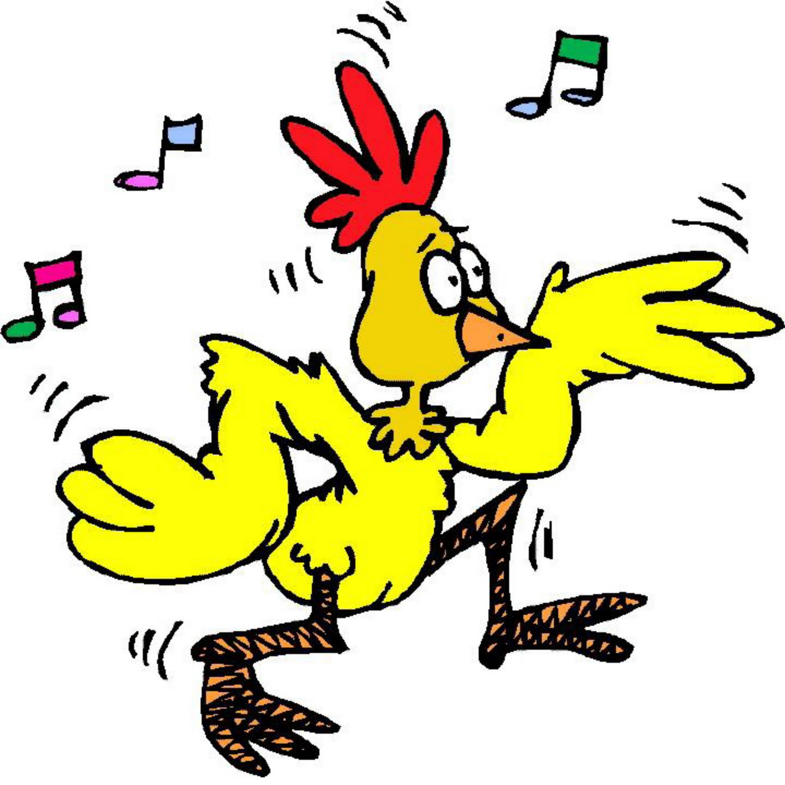 cartoon chicken clip art free - photo #37