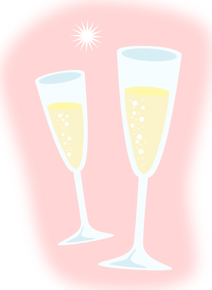 Cartoon Images Of Champagne Glass