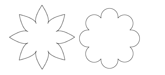 Template For Flower Petals