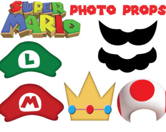Super Mario Birthday Clip Art - ClipArt Best