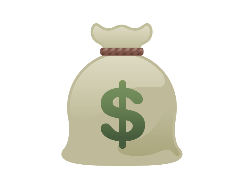 Cartoon Bag Of Money - Cliparts.co