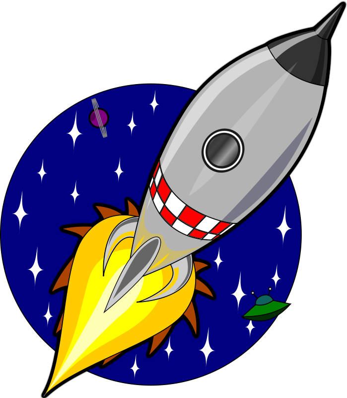 Pix For > Space Rocket Cartoon