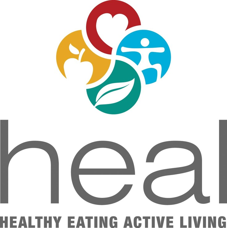 Heal Healthy Eating Active Living Logo | Medical logos | Pinterest