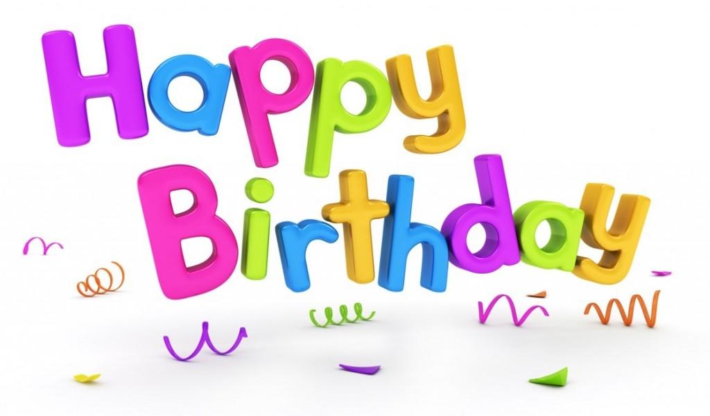 Поздравление с днем рождения по английски и открыткой