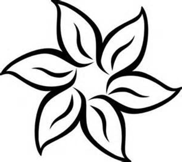 Flower Clip Art Black And White Pictures 5 HD Wallpapers | lzamgs.
