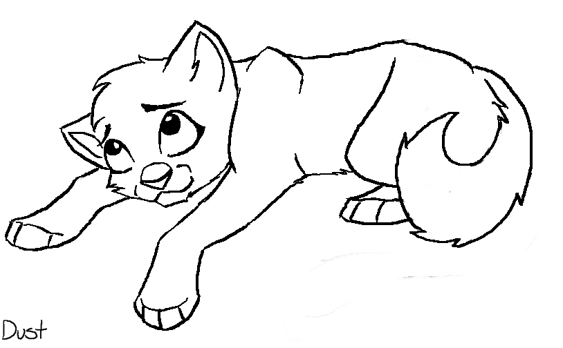 Free coloring pages of warrior cats kits