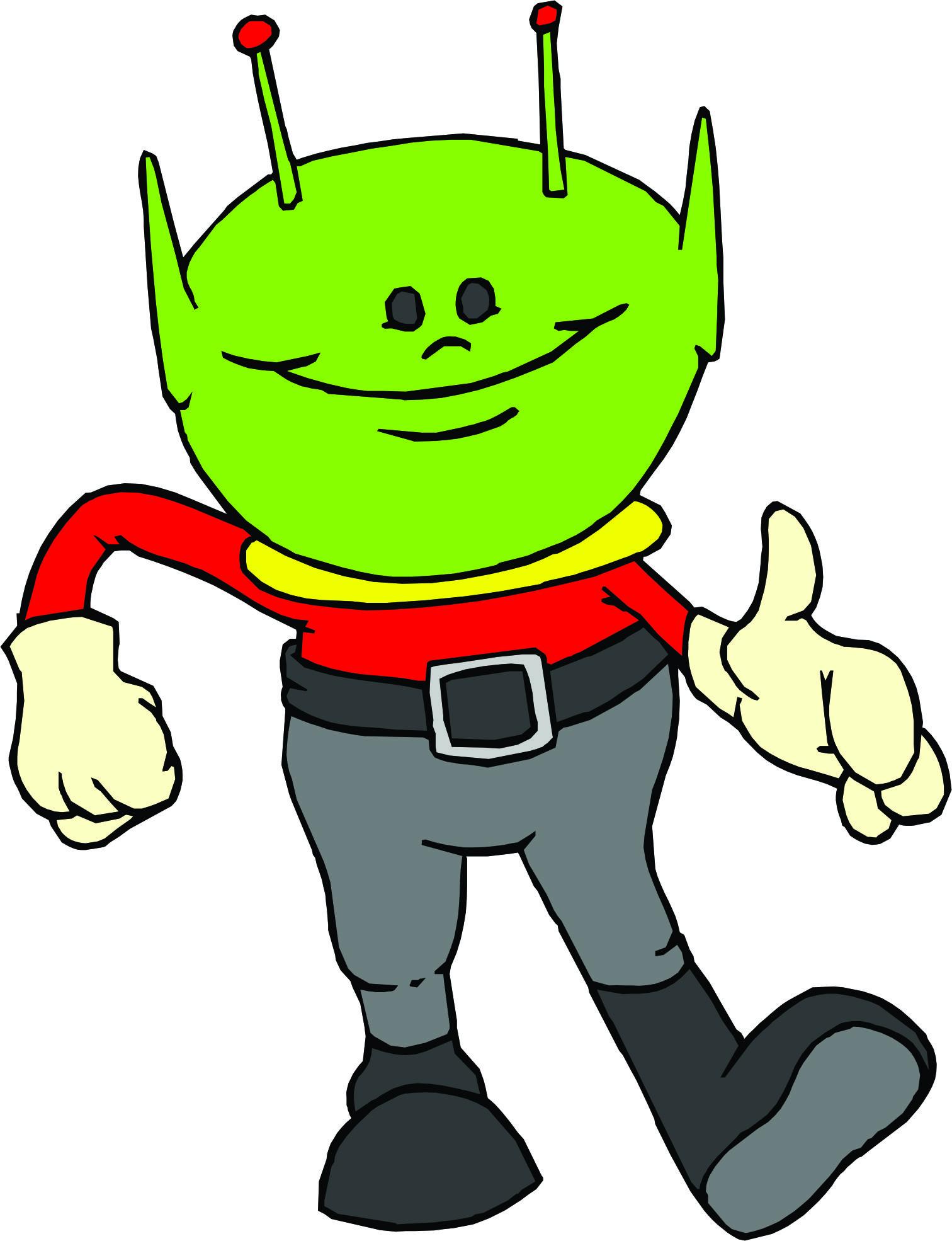 cartoon alien pics cliparts co