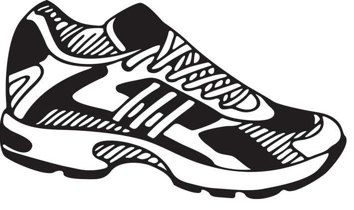 Running Shoe Coloring Page ClipArt Best | Women Shoes | Women Shoes