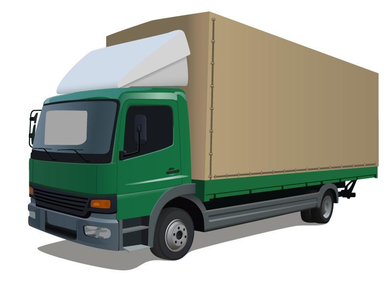 truck vector. Black Bedroom Furniture Sets. Home Design Ideas