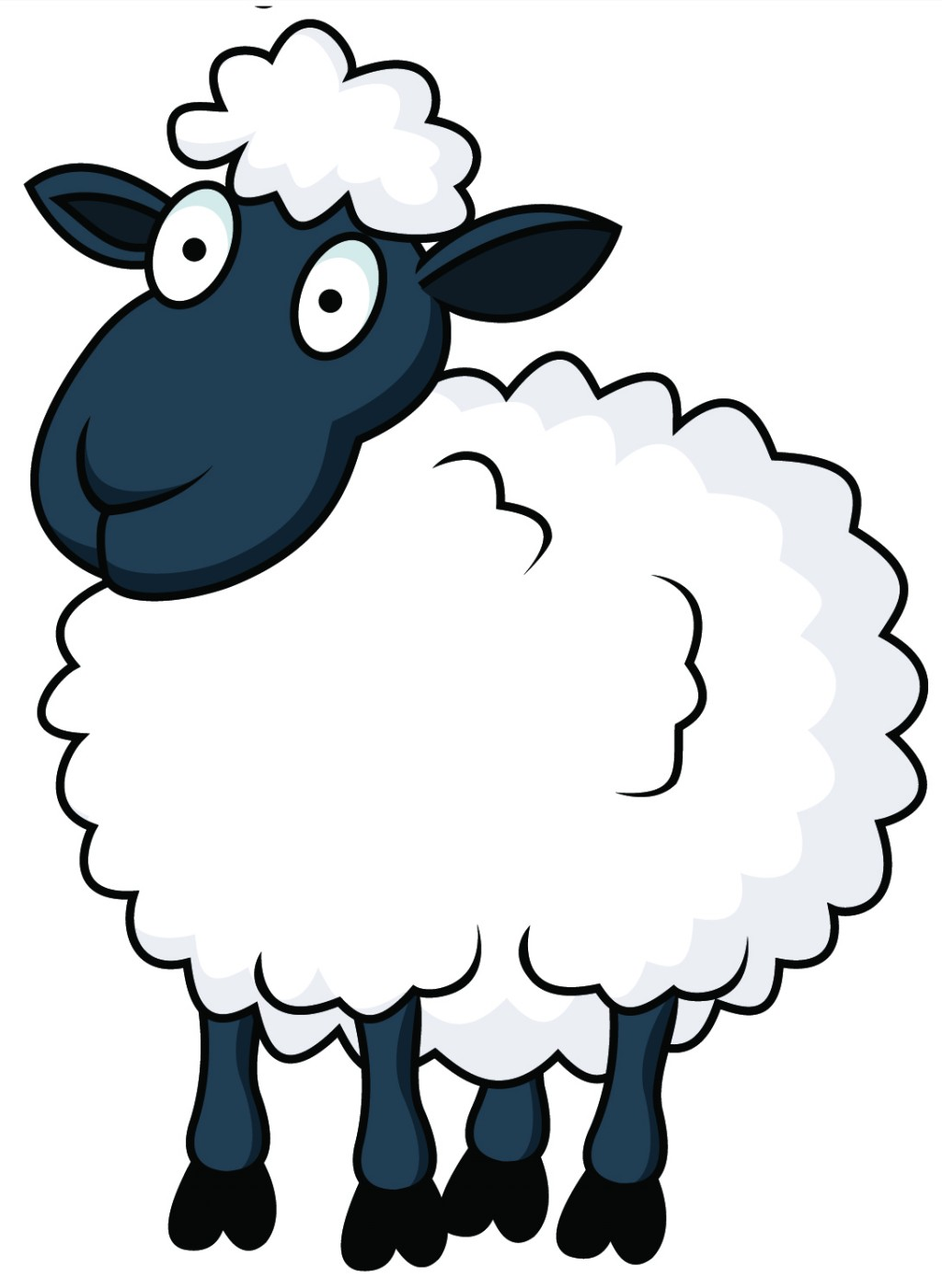 Funny Eid ul-Adha Sheep in Cartoon Pictures | Amazing Photos