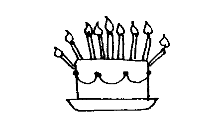 Birthday Party Clip Art Black And White | Clipart Panda - Free ...