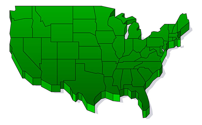 clip art map united states - photo #17