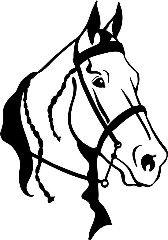 horse drawings clip art - photo #36