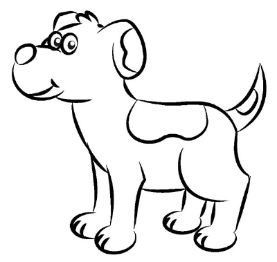 DRAWING OF A DOG - Cli...