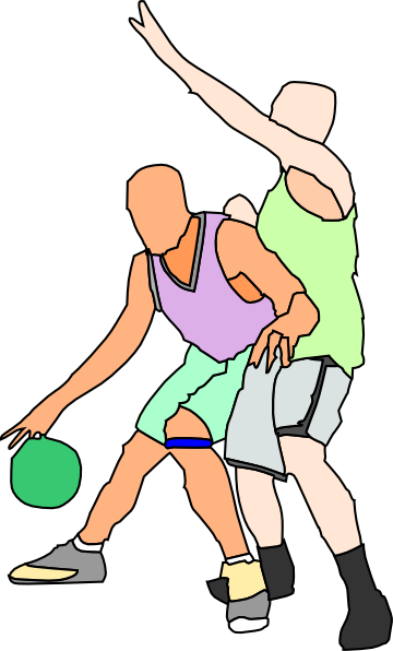clipart playing basketball - photo #10