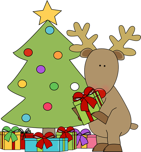 Christmas Reindeer Clipart - Cliparts.co