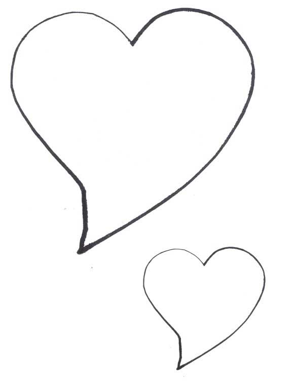 Free Heart Quilting Stencils : Heart Shapes - Heart Patterns - Cliparts.co