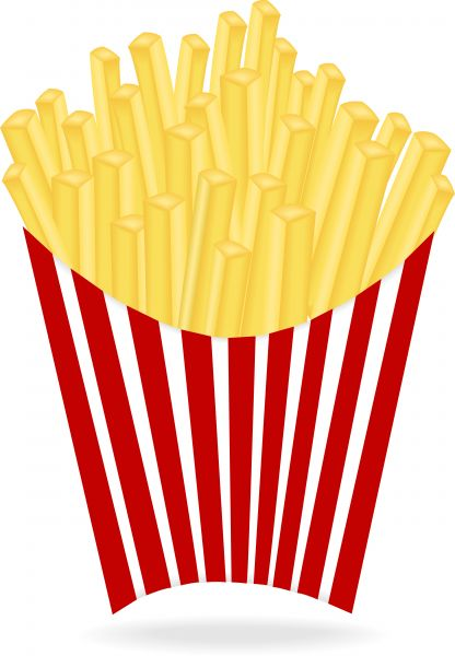 French Fries Clipart - Cliparts.co