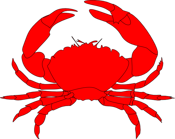King Crab Clipart Crab Clipart Black And White
