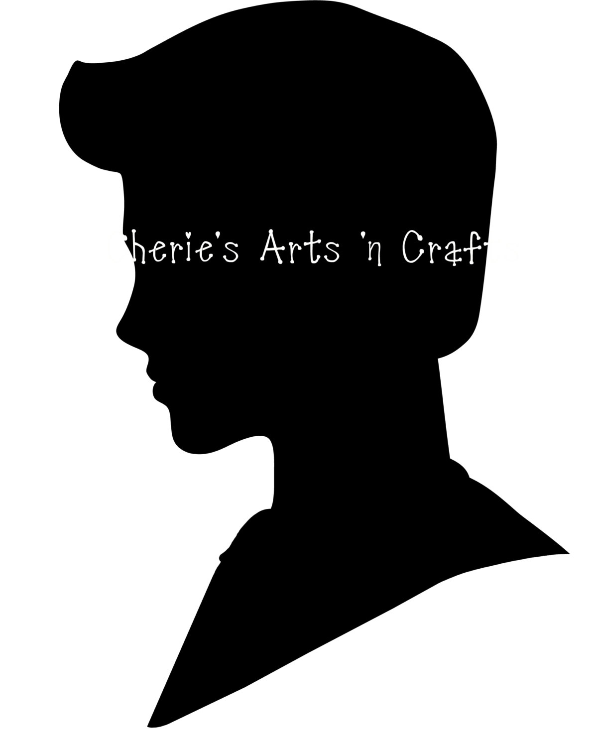 Face Silhouette Clipart