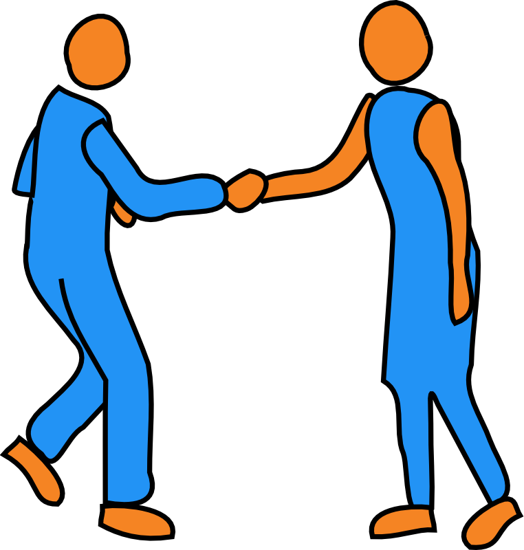 Shake Hands Clipart Cliparts Co