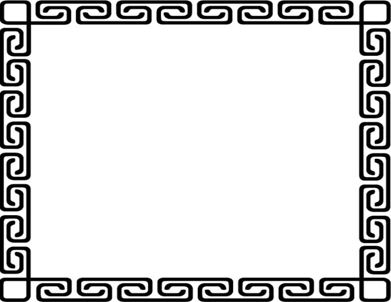 black and white christmas borders clipartsco