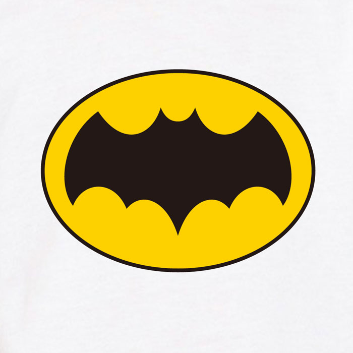 Batman Logo Kids T-Shirt - White