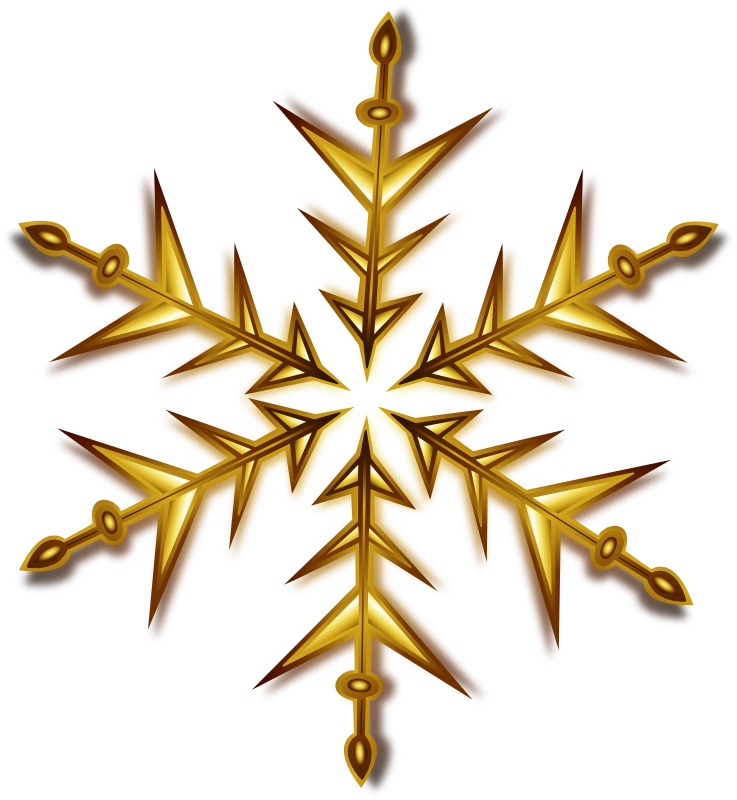 Christmas Snowflake Clip Art - Cliparts.co