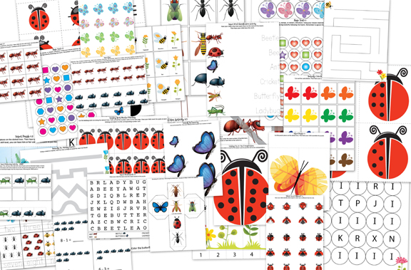 Printable Pictures Of Insects - Cliparts.co