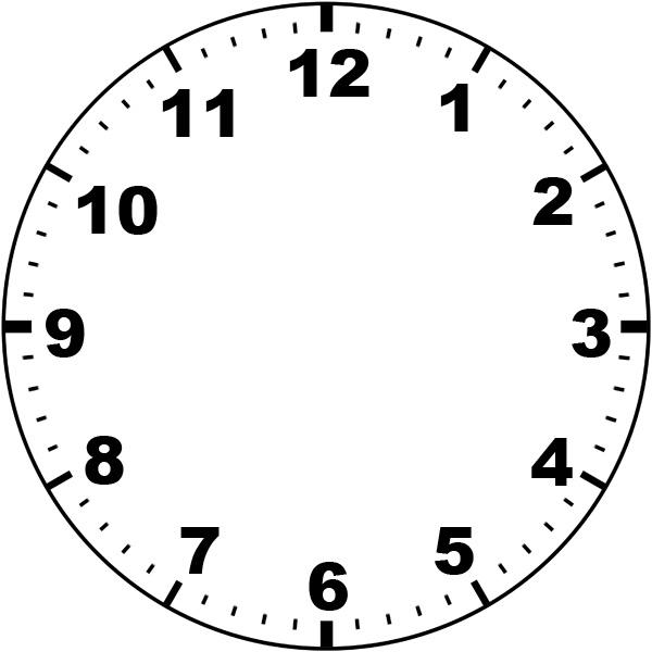 Clock Faces - Cliparts.co