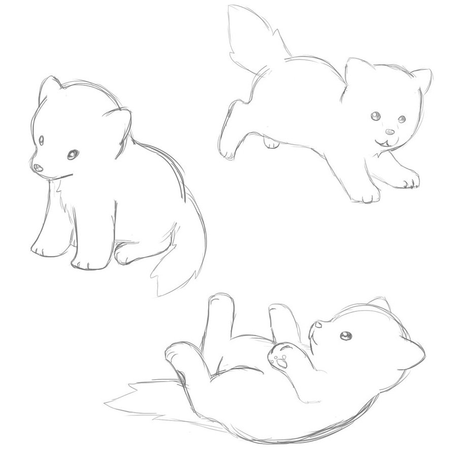 drawings of a dog cliparts co