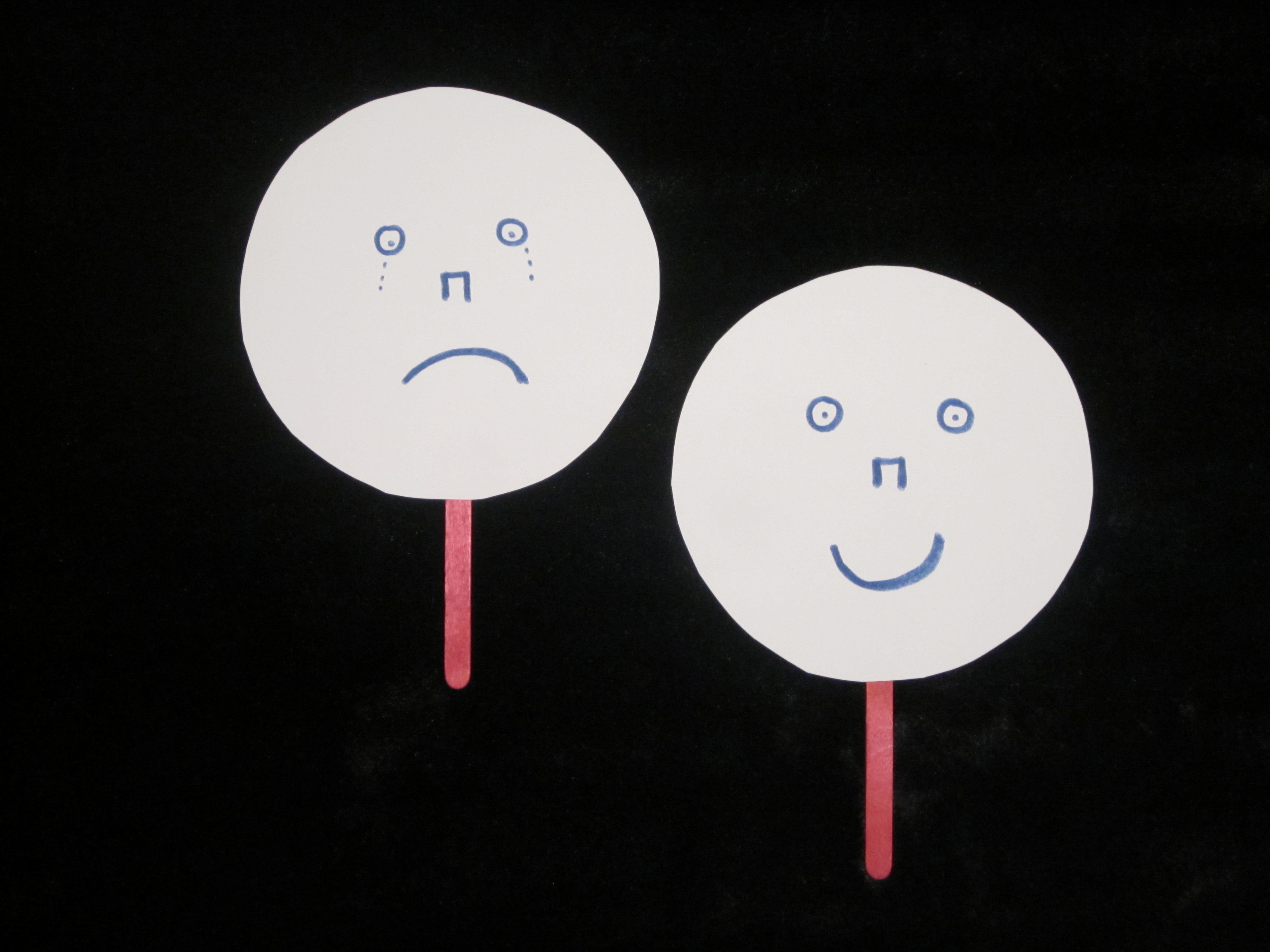 Happy Sad Face Craft