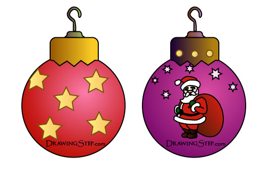 Christmas Tree Ornaments - Cliparts.co