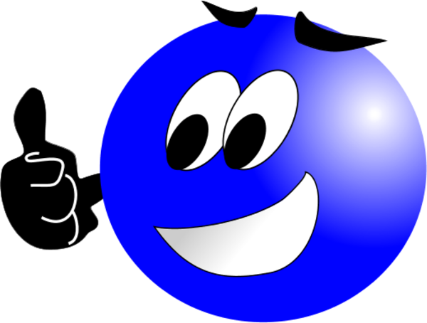 Smiley Face With Mustache And Thumbs Up Clipart Panda Free