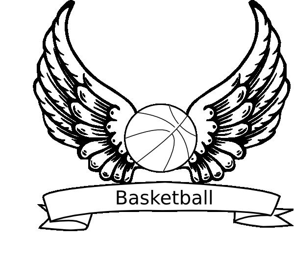 Line Drawing Basketball : Basketball line art cliparts