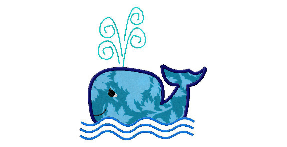 Free Whale Machine Embroidery Designs