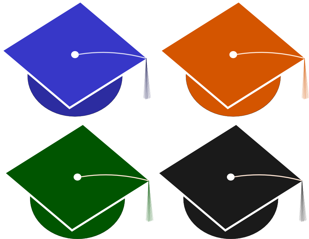 clipartist.net » Clip Art » Graduation Hat Mortor Board Tassel ...