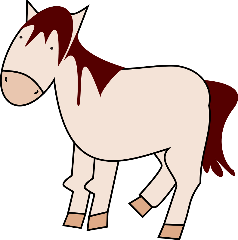 Running Horse Clipart - Cliparts.co