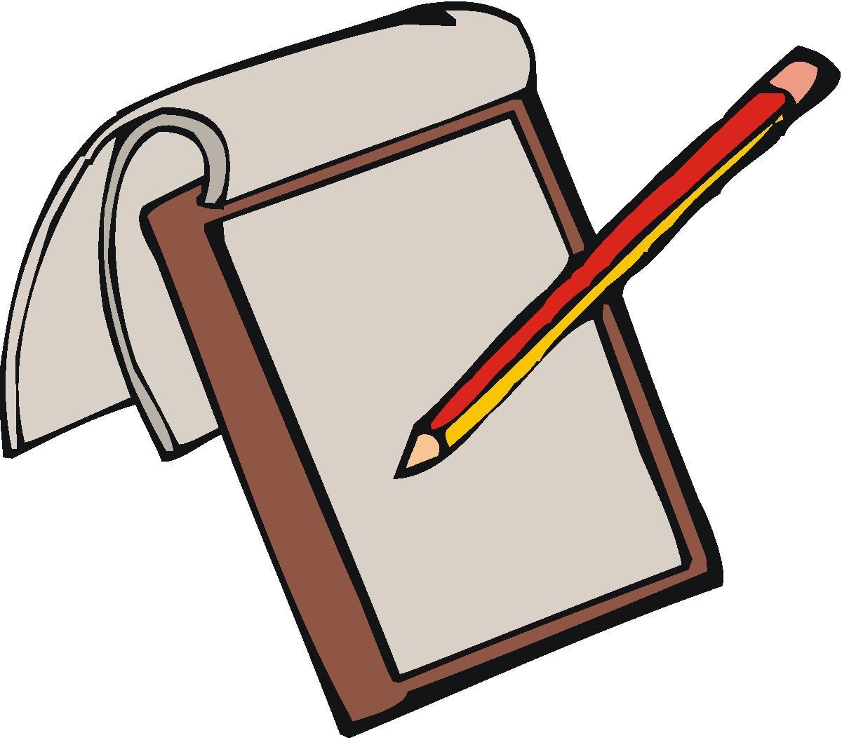 Pencil Writing Clip Art | Clipart Panda - Free Clipart Images