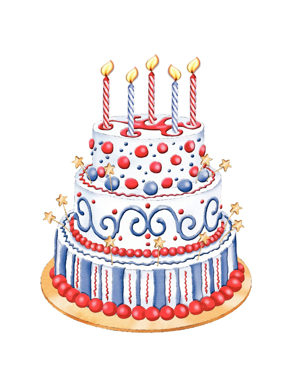 Cake Pictures Birthday Free : Birthday Cake Free Clipart Birthday Cake Trends ...