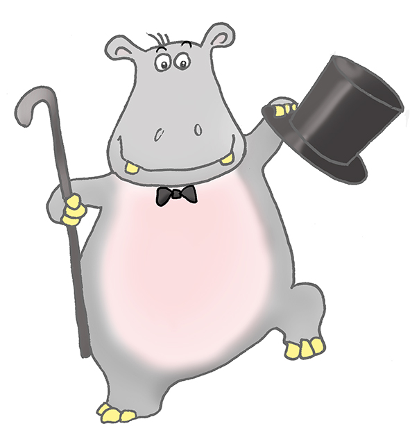baby hippo clipart - photo #30