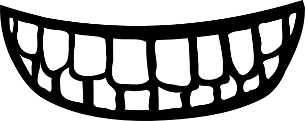 mouth-clipart-black-and-white- ...