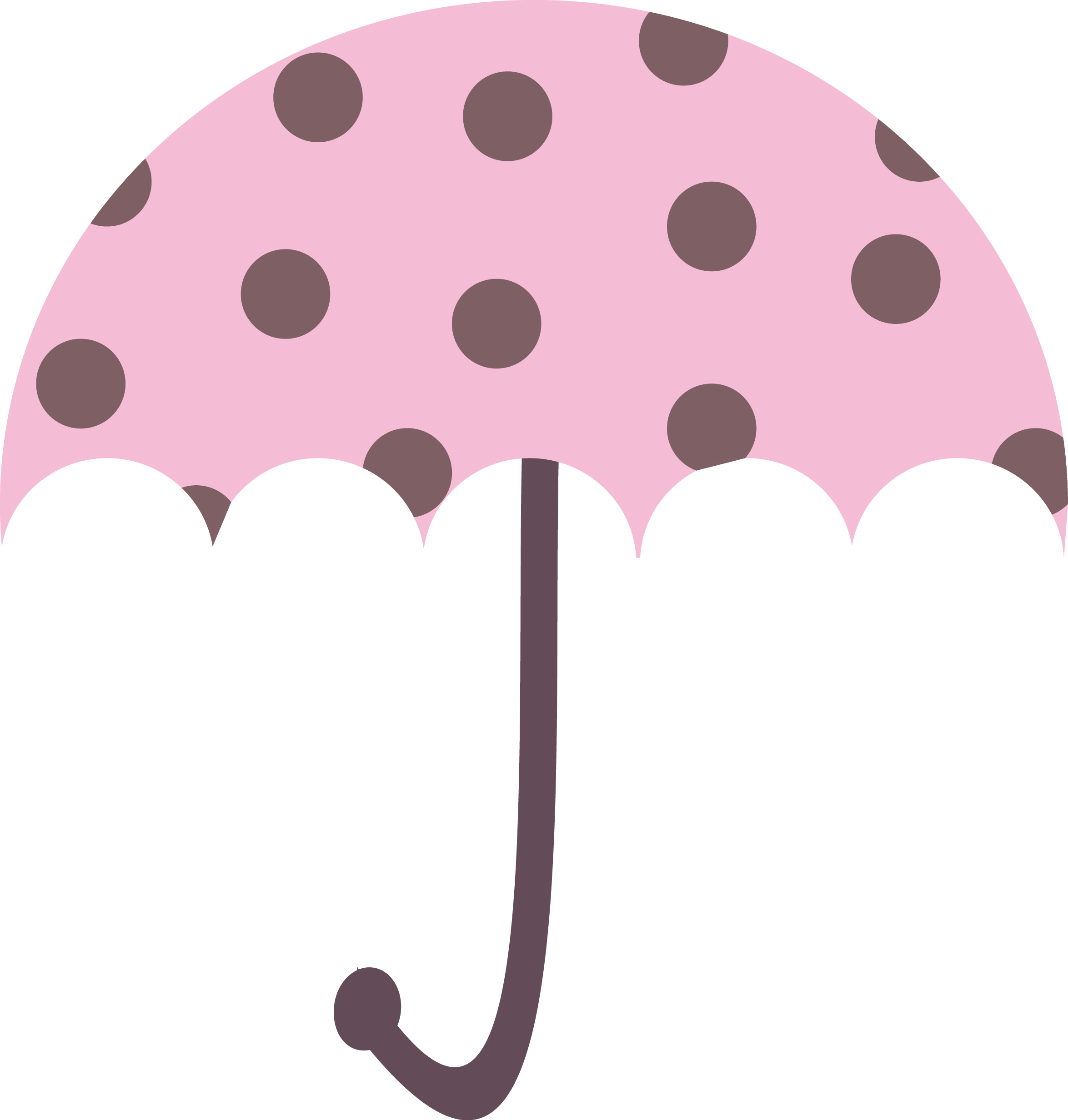 Umbrella image - vector clip art online, royalty free & public domain