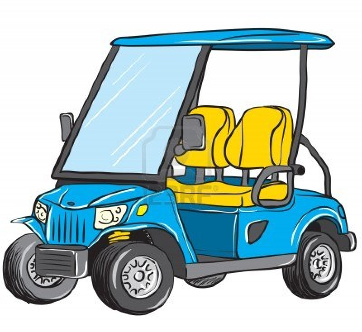Golf cart clipart for Eplan for drivers